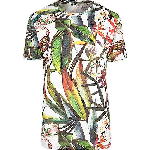 T-shirt imprimé Only & Sons vert
