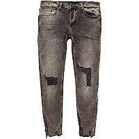 Sid – Skinny Jeans mit Farbklecksen