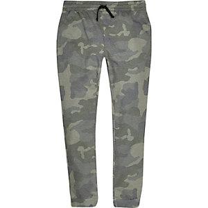 Pantalon de jogging camouflage kaki