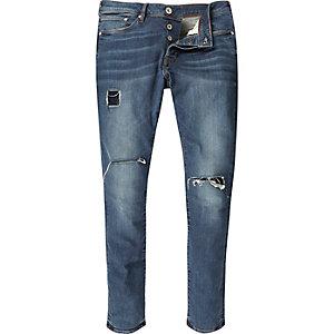 Danny – Zerrissene Jeans im Usedlook in mittlerer Waschung