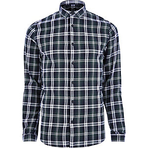 Green Only & Sons casual check shirt