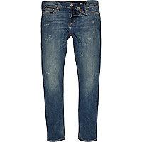 Eddy – Mittelblaue Skinny Jeans