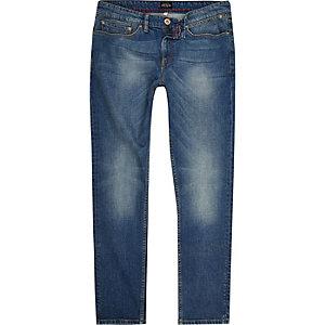 Mid wash Sid skinny jeans