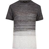Marineblaues T-Shirt mit Muster