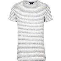 White stripe Jack & Jones slim fit T-shirt