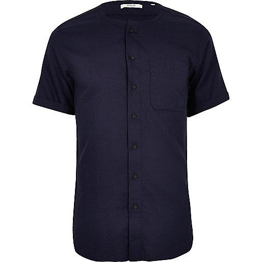 Jack & Jones Premium – Hemd in Indigoblau