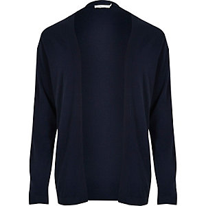 Navy Jack & Jones Premium knit cardigan