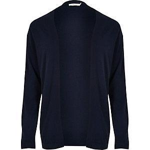 Navy Jack & Jones Premium knit cardigan