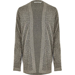 Grey Jack & Jones Premium knit cardigan
