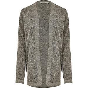 Grey Jack & Jones Premium knit cardigan