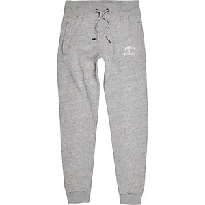 Pantalon de jogging gris chiné Franklin & Marshall