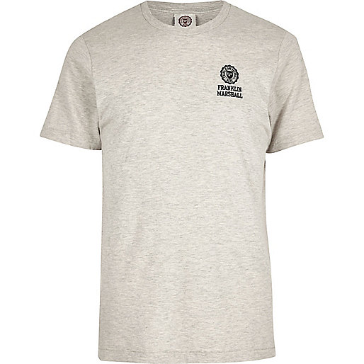 Franklin & Marshall – Graues T-Shirt