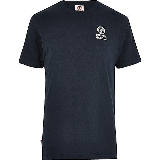 T-shirt Franklin & Marshall bleu marine