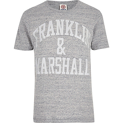 T-shirt Franklin & Marshall gris