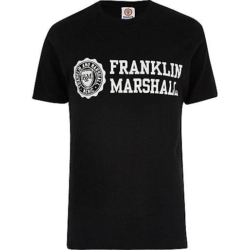 T-shirt Franklin & Marshall noir