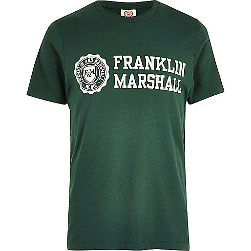 Green Franklin & Marshall T-shirt