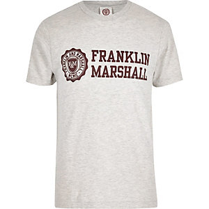 Grey Franklin Marshall T-shirt