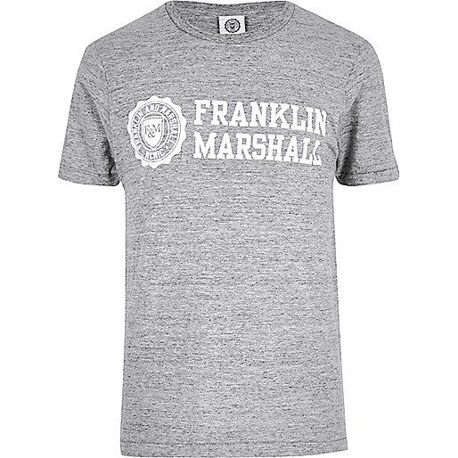 Grey Franklin & Marshall T-shirt