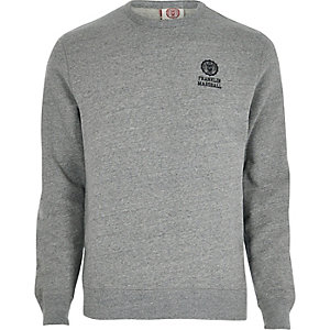 Grey fleece Franklin & Marshall sweatshirt