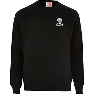 Black fleece Franklin & Marshall sweatshirt