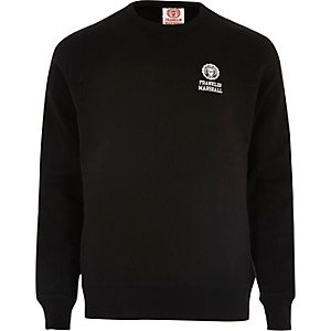Black fleece Franklin & Marshall sweatshirt