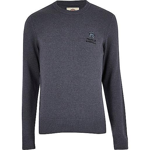 Blue Franklin & Marshall knit jumper