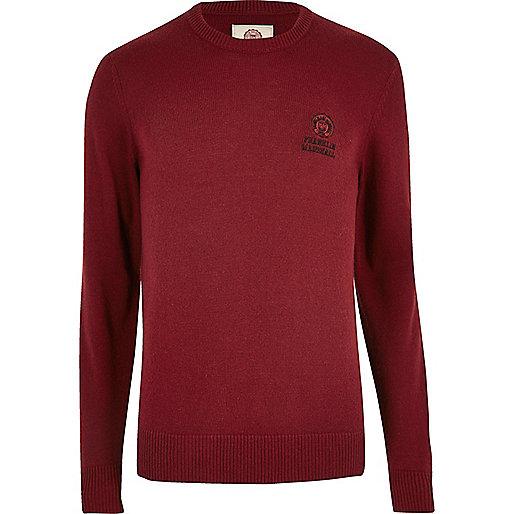 Franklin & Marshall – Roter Pullover