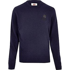 Navy Franklin & Marshall knit jumper