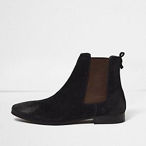 Chelsea-Stiefel aus Wildleder