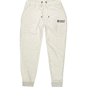 Light grey Franklin & Marshall print joggers
