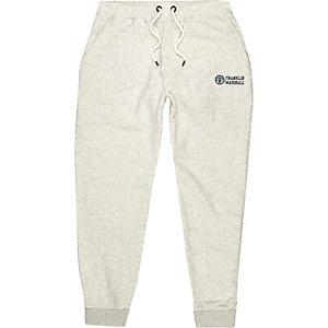 Pantalon de jogging imprimé Franklin & Marshall gris clair