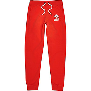 Red Franklin & Marshall print joggers