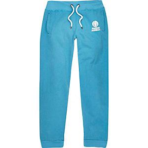 Pantalon de jogging Franklin & Marshall imprimé bleu