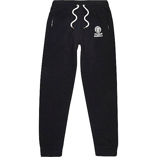 Pantalon de jogging imprimé Franklin & Marshall noir