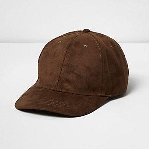 Light brown tobacco cap