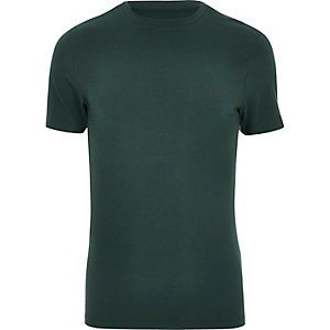 Green muscle T-shirt