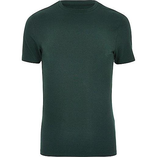Green muscle T-shirt