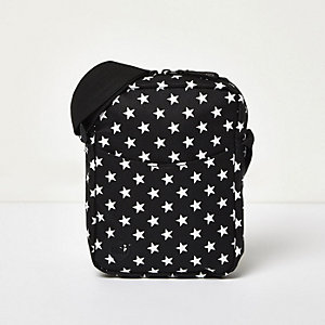 Black Mi-Pac star print classic flight bag