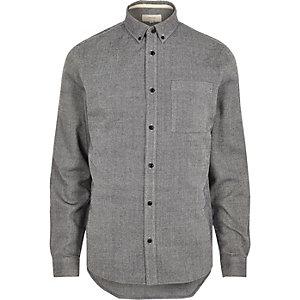 Navy twill shirt