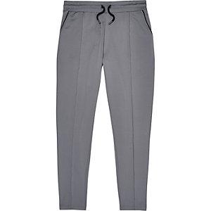 Grey smart joggers