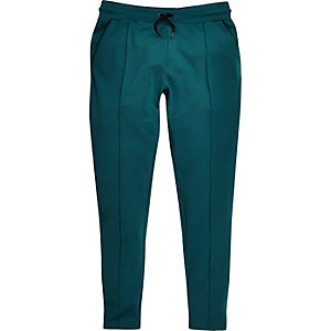 Turquoise smart joggers