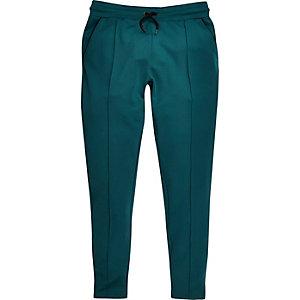 Pantalon de jogging habillé turquoise