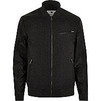 Dark grey Jack & Jones Premium bomber jacket
