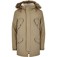 Stone Jack & Jones Vintage hooded parka