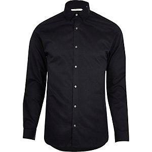 Navy Jack & Jones Premium smart shirt