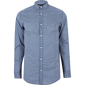 Blue print Jack & Jones shirt