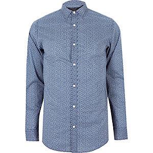Blue print Jack & Jones shirt