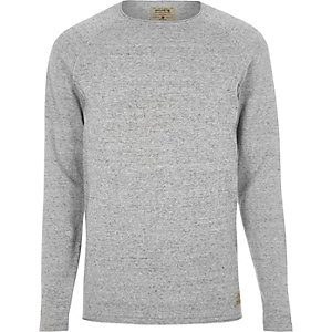 Light grey knit Jack & Jones Vintage sweater