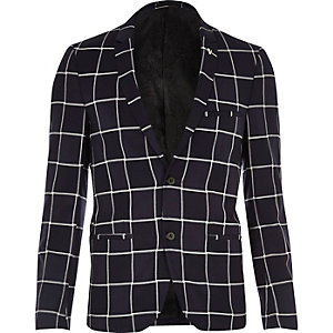 Navy blue cross Vito blazer