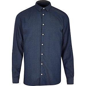 Dark blue Vito shirt